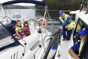 Marine Rescue Volunteers Weigh Anchor the Old School Way